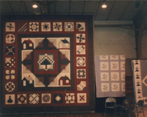 "Quilt made for David City Aquinas High Schools' play ""The Quilters"""